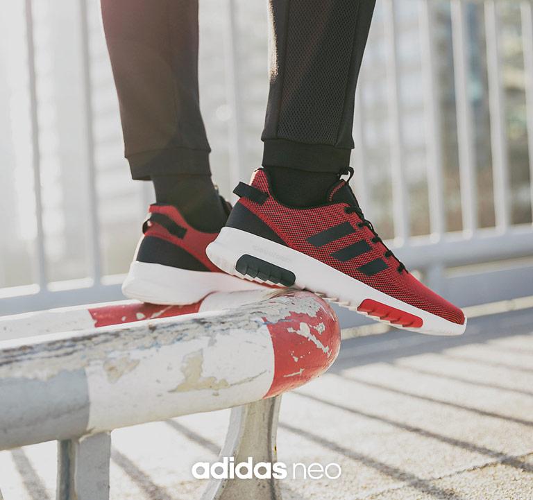 adidas neo Cloudfoam Racer Sneaker