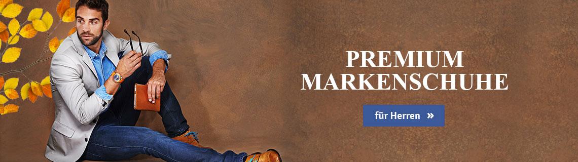 Premium Markenschuhe für Herren