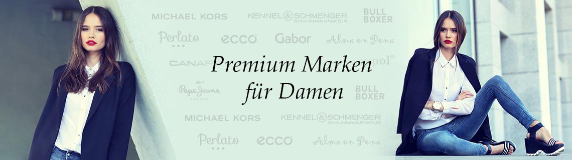 Premium Markenschuhe für Damen