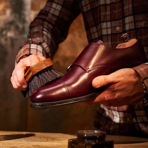 Schuhe Pflege