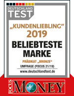 Focus Money Kundenliebling 2019